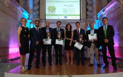 V edición de los Premios a la Excelencia Empresarial de Extremadura