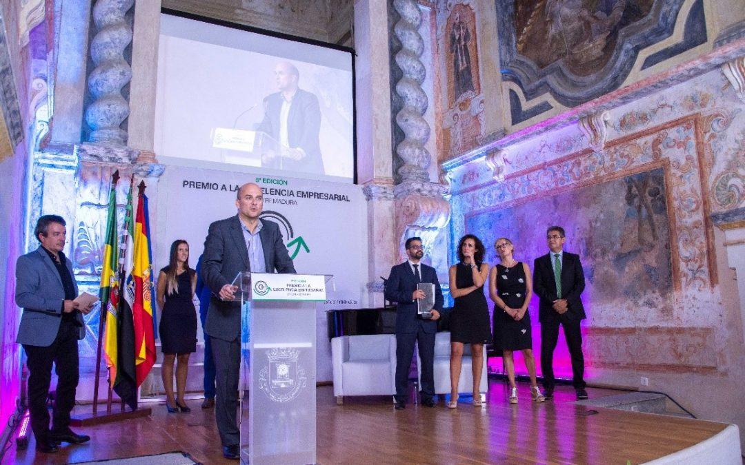 eCapture3D, Premio a la Empresa Excelente de Extremadura del Sector Servicios 2018