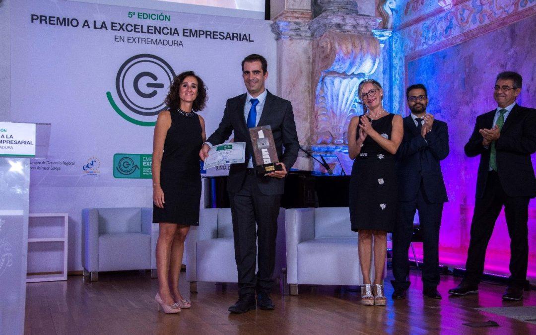 Motorcycle Center Europe, Premio a la Empresa Excelente de Extremadura 2018