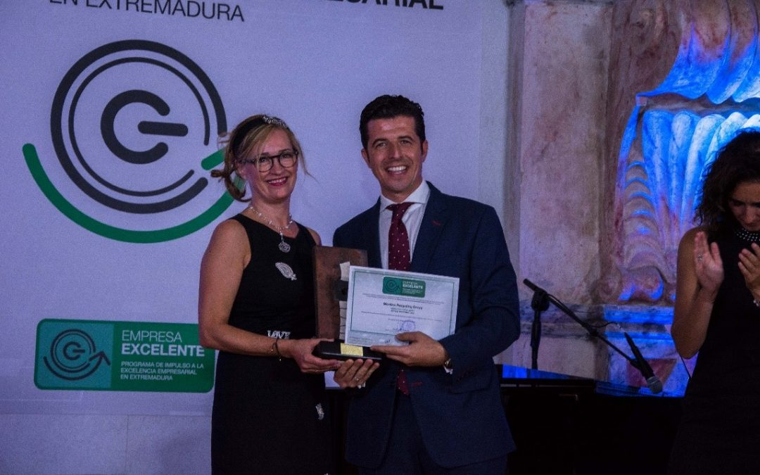 Movilex Recycling Group, Premio a la Empresa Excelente del Sector Industrial de Extremadura 2018
